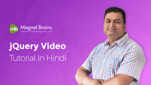 jQuery - Video Tutorial In Hindi - Magnet Brains